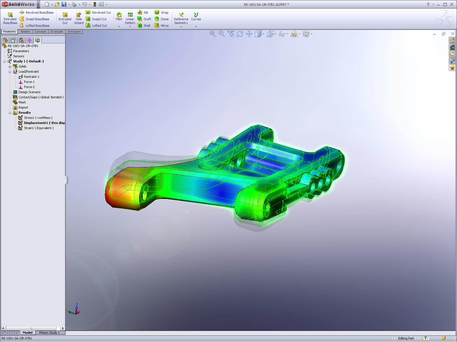 Solidworks Simulation Standard A S3d