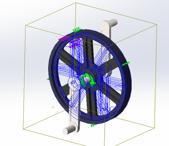 [SolidWorks Simulation] Les corps sous-contraints