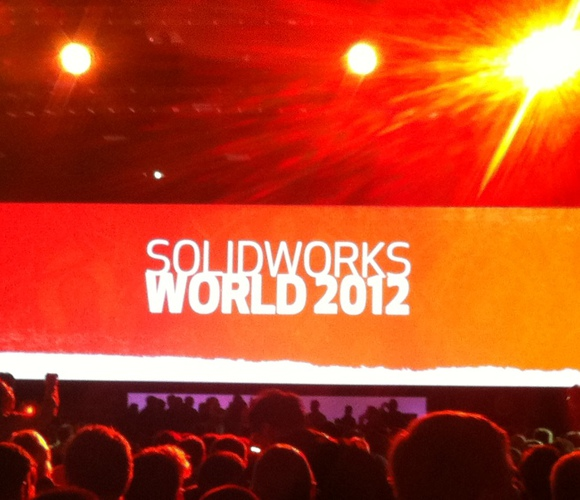 SolidWorks World 2012 - General session 1er jour
