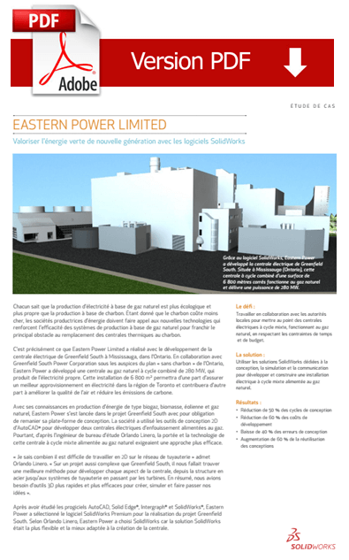 Cas client : Eastern Power