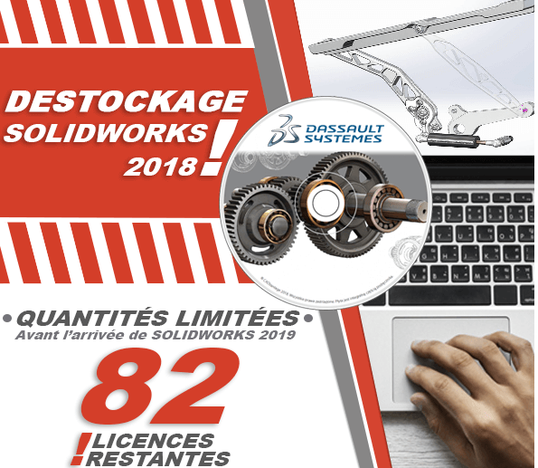 Destockage solidworks 2018