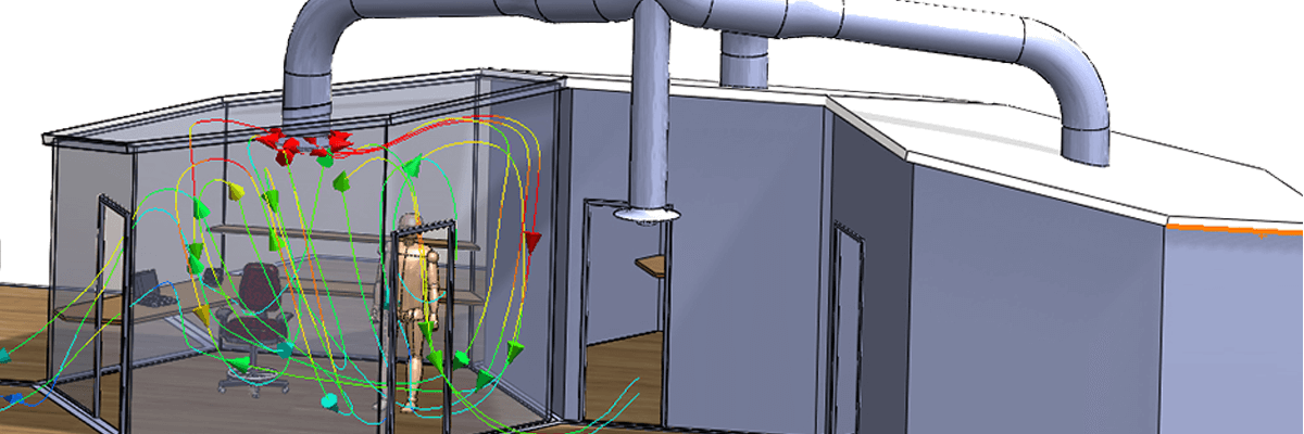 SolidWorks Flow Simulation HVAC