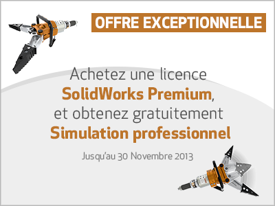 Promotion SolidWorks Simulation Professionnel