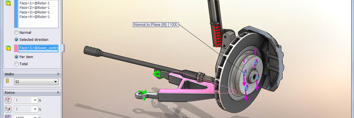 SolidWorks Simulation Motion